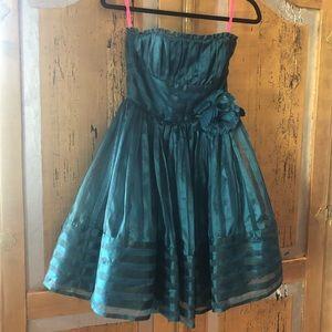 Green Betsy Johnson Cocktail Dress